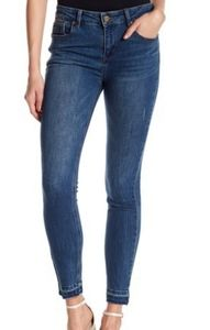 Kenneth Cole Jess Released Hem Skinny Jeans 10